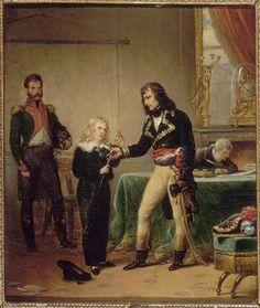 Bonaparte remettant l'épée d'Alexandre de Beauharnais à son fils Eugéne-Steuben