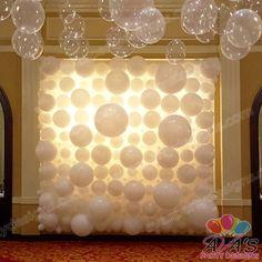 Balloon Walls + Backdrops | Fairfield County, CT + NY | 203.244.7844