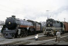 RailPictures.Net Photo: CP 2839 Canadian Pacific Railway Steam 4-6-4 at Spencer, North Carolina by Tom Farence