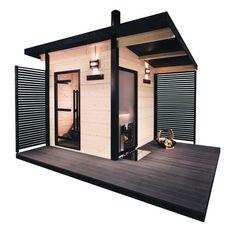 Look at the webpage above simply press the grey tab for further alternatives _ steam sauna Sauna House, Sauna Room, Design Sauna, Modern Saunas, Sauna Shower, Outdoor Sauna, Porches, Finnish Sauna, Backyard Sheds