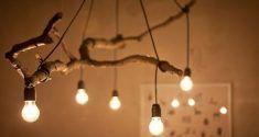 Kleine LED-Lampe in einem Luftballon.