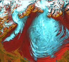 TIMELAPSE: LANDSAT SATELLITE STORIES