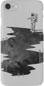 Space Diving iPhone 7 Cases