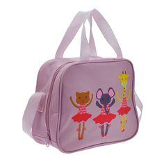 "Starlite 230 Pink Ballet Animal Holdall. Childrens Dance Bag.Fabric : Nylon Size : 25 cm x 20 cm 10 cm (10"" X 8"" X 4""). Colour : Pink.  www.dancinginthestreet.com Dance Bags, Ballet, Dance Wear, Back To School, Gym Bag, Pink, Essentials, Dance Shoes, Backpacks"