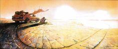 A Treasure Trove of Mad Max: Fury Road Concept Art
