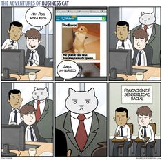 Resultado de imagen para las aventuras del gato empresario