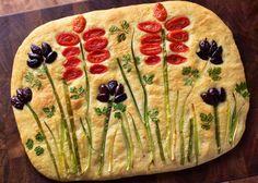 Scd Recipes, Brunch Recipes, Bread Recipes, Party Recipes, Brunch Ideas, Easter Recipes, Savoury Baking, Bread Baking, Focaccia Bread Recipe