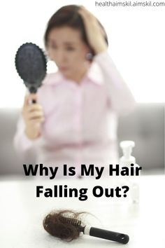 """Is your hair falling out? Are you thinning on top of your head? You maybe wondering, """"How do I stop my mane from falling out? Well below you will find simple ways to stop your hair from falling out and they are as follows: #hair_loss_women #hair_loss_women_treatment #hair_loss #hair_falling_out #hair_falling_out_after_pregnancy #hair_falling #hair_fall_2020_trends Mira Hair Oil, Pregnancy Hair, Hair Falling Out, Good Sources Of Protein, Herbal Oil, Fast Hairstyles, Hair Loss Women, Hair Vitamins, Stressed Out"""