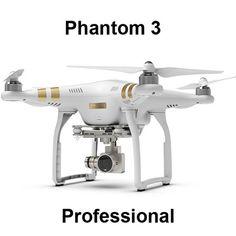 DJI Phantom 3 Professional With 4K Camera & Advanced 1080p HD RTF - naosumelife  - 1