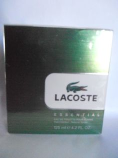 Lacoste Essential for Men 4.2 oz EDT Spray NEW IN BOX, UNOPENED, SEALED #Lacoste