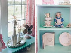 Ellia's Lovely Little Nursery By Natalie Spencer Photography/Fawn Over Baby Girls Room Paint, Girls Bedroom, 1st Birthday Parties, Future Baby, Floating Shelves, Nursery, Diy, Photography, Naked