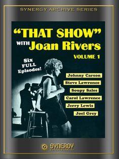 That Show with Joan Rivers Vol. 1 Amazon Instant Video ~ Joan Rivers, https://smile.amazon.com/dp/B006JJ4L56/ref=cm_sw_r_pi_dp_ao6Pyb1MPFB0J