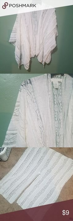 Lace shrug / tunic Pretty lace tunic / shrug to layer with a variety of styles / outfits. Sweaters Shrugs & Ponchos