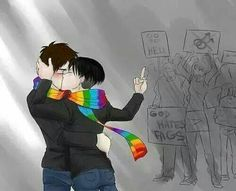 yaoi, shingeki no kyojin and ereri GIF on We Heart It Gay Couple, Transgender, Gay Romance, Eren Y Levi, Yaoi Hard, Lgbt Love, Wattpad, Lgbt Community, Titans
