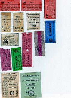 Tickets by raidensgrammie21, via Flickr