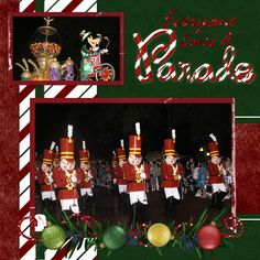 Once Upon A Christmastime Parade - MouseScrappers.com