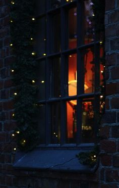 #christmas #inspiration #night #lights #window #snow #xmas #cozy #beautiful #nostalgic #beauty #inspiring #christmastime #amazing #warm #home