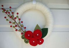 wreath by anna hailey on etsy