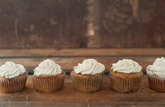 Chai Spiced Carrot Cupcakes   http://somekitchenstories.com