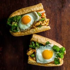Build the perfect Crispy Chicken Banh Mi - The banh mi is quickly becoming the go-to sandwich of choice for many people. There are so many amazing variations, and the possibilities are endlessly delicious. This crispy chicken version is ready in minutes after some time spent marinating in the fridge. http://www.foodandwine.com/fwx/food/crispy-chicken-banh-mi-will-make-you-sandwich-guru-you-have-always-wanted-be