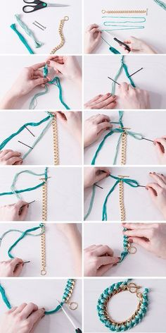 Make your own (grown-up!) friendship bracelet with this step-by-step guide! Make your own (grown-up!) friendship bracelet with this step-by-step guide! Diy Jewelry Rings, Diy Jewelry Unique, Diy Jewelry To Sell, Diy Jewelry Making, Handmade Jewelry, Jewelry Dish, Sell Diy, Crafts To Sell, Do It Yourself Jewelry