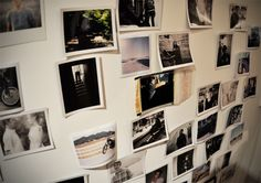 i want a Polaroid picture wall in my house.