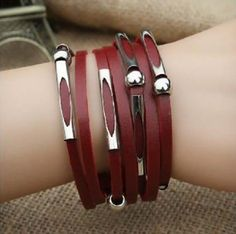 Korean version of the hot new fashion leather by Beautifuljewelrys, $5.99