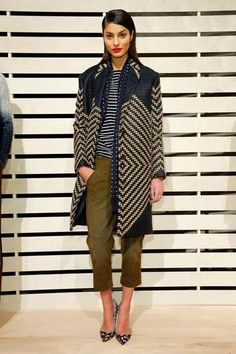 J. Crew Fall 2014: Every Look From the Sporty-Opulent Collection | StyleCaster