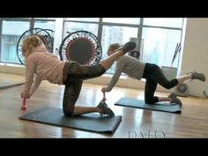 Tracy Anderson Bikini Butt Workout on Daily Candy - YouTube