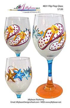 Flip flop glasses by Jillybean Fitzhenry