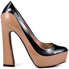 Brandii heels Praline Black Multi brand heels Blink |Heels|