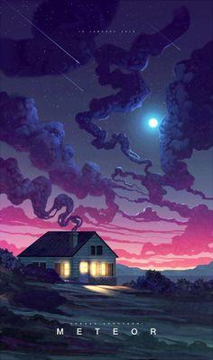 serialthrill:  Meteor by Andi Korov http://ift.tt/1WTLV2V