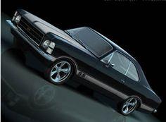 Just Pictures - Just Pictures: Old Cars - Tuned Opal - Jack Daniels Sæbedispenser - Design de Carros e Motocicletas Car Photos, Car Pictures, Retro Cars, Vintage Cars, Chevrolet Corvette, Chevy, Monster Car, Top Cars, Car Tuning