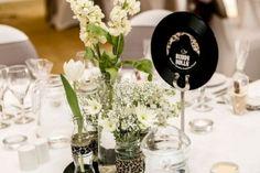 Table de mariage rock