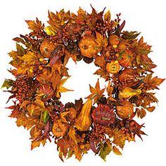 Pumpkin Harvest Wreath