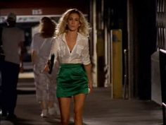 Carrie Bradshaw, I could wear all her outfits
