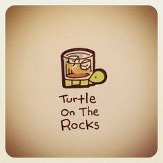 Turtle On The Rocks #turtleadayjune - @turtlewayne- #webstagram