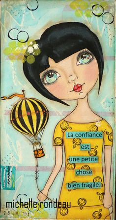 Wood And Fabric: Un peu d'art journal...