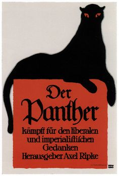 Lucian Bernhard, Poster for a publishing house, 1915 by kitchener.lord, via Flickr
