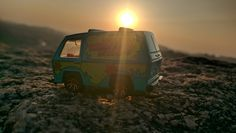 The Mystery Machine at Mysterious Places part 24 - Rocky Ride.  #scoobydoo #mysterymachine #toycar