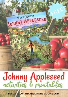 With fall just around the corner, now is the perfect time to read about Johnny Appleseed. Discover printables and hands-on activities to do with your kids.