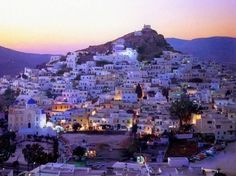 IOS ISLAND, GREECE - Party island, home of the Black Russian