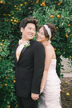 cute asian bride and groom!