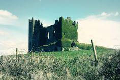 Ballycarbery Castle ruin, Kerry, Ireland