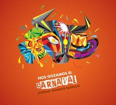 Propuesta Gráfica Carnaval de Barranquilla on Behance Copywriter, Carnival, Behance, Illustration, Brazil, Cartoons, Movie Posters, Makeup, Summer