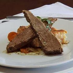 plateada al horno con gratín de papas Beef, Food, Event Organization, Corporate Events, Oven, Meat, Ox, Ground Beef, Meals