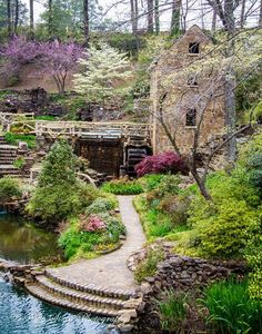 Old Mill Park in North Little Rock, Arkansas