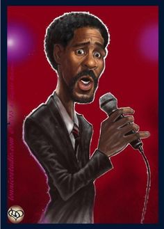 Richard Pryor by lonnieostudio via wittygraphy