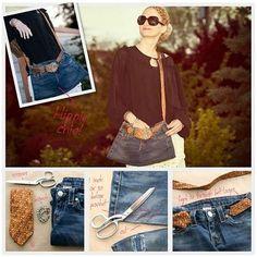 Jeans Reciclado, Reciclado Bolsa, Reciclando Textiles, Vaqueros Reciclados, Bolsos, Telas, Carteras, Hazlo, Jeans Paso