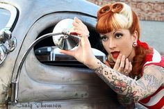Super Ideas for fashion photography ideas modeling poses pin up Rockabilly Pin Up, Rockabilly Fashion, Rockabilly Hairstyle, Pin Up Girls, Car Girls, Pop Art, Rock And Roll, Pin Up Photography, Modeling Photography